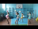 Танец группы поддержки 7-а кл.Dark Angels,2014 год.